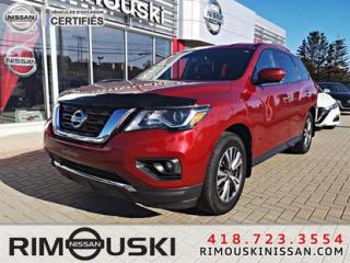 Used 2017 Nissan Pathfinder 4WD 4dr SL **CUIR** for sale in Rimouski, QC