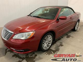 Used 2012 Chrysler 200 Touring Convertible V6 MAGS *Bas Kilométrage* for sale in Shawinigan, QC