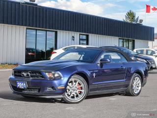 Used 2011 Ford Mustang V6,B.TOOTH,USB,LEATHER,HEATED SEATS,REMOTE STARTER for sale in Barrie, ON