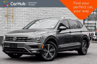Used 2018 Volkswagen Tiguan Highline|Pano_Sunroof|Fender.SoundSystem|Sat.Radio|Navi| for sale in Thornhill, ON