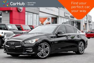 Used 2015 Infiniti Q50 Sport for sale in Thornhill, ON