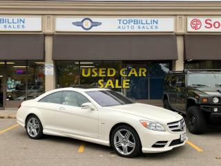 Used 2012 Mercedes-Benz CL550 CL 550 4Matic, Night Vision, Massage Seats for sale in Vaughan, ON