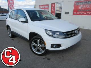 Used 2013 Volkswagen Tiguan 2.0 TSI Trendline (A6) for sale in St-Jérôme, QC