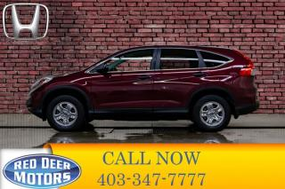 Used 2015 Honda CR-V AWD LX BCam for sale in Red Deer, AB