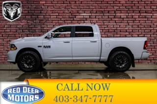 Used 2018 RAM 1500 4x4 Crew Cab Sport Leather Roof Nav for sale in Red Deer, AB