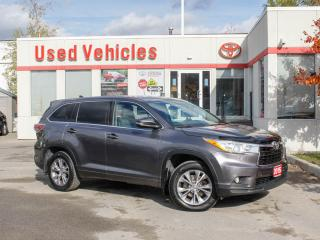 Used 2015 Toyota Highlander AWD 4dr LE for sale in North York, ON