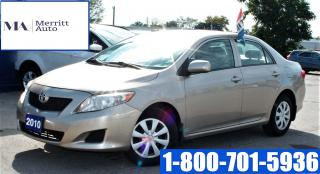 Used 2010 Toyota Corolla CE| Certified | 1 yr Warranty Inc for sale in London, ON