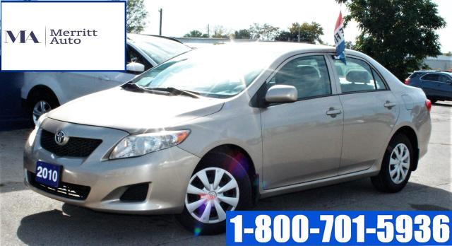 2010 Toyota Corolla CE| Certified | 1 yr Warranty Inc