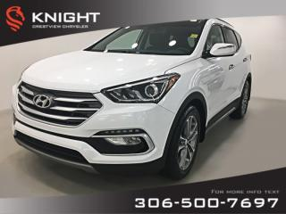 Used 2018 Hyundai Santa Fe Sport Ultimate AWD | Leather | Sunroof | Navigation for sale in Regina, SK