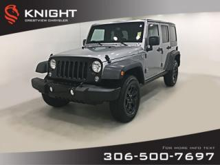 Used 2015 Jeep Wrangler Unlimited Willys for sale in Regina, SK