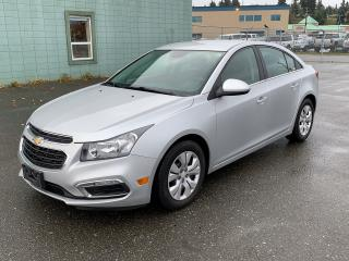 Used 2015 Chevrolet Cruze 1LT for sale in Campbell River, BC