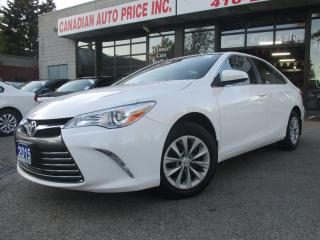 Used 2015 Toyota Camry LE-BACK UP CAMERA-BLUETOOTH-FACTORY WARRANTY for sale in Scarborough, ON