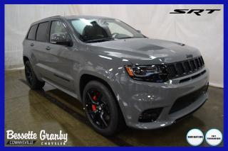 Used 2020 Jeep Grand Cherokee SRT +V8 6.4L, Toit Pano, Cuir Laguna+ for sale in Cowansville, QC