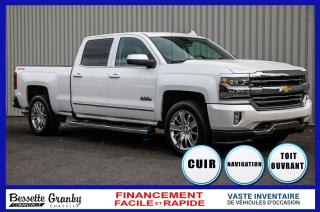 Used 2017 Chevrolet Silverado 1500 High Country-Toit-Navigation-Cuir for sale in Cowansville, QC