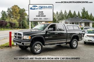 Used 2005 Dodge Ram 2500 POWER WAGON 4x4, Quad Cab HEMI, Winch, RARE! for sale in Surrey, BC