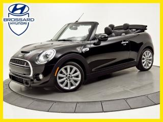 Used 2016 MINI Cooper CONVERTIBLE SIÈGES CHAUFFANTS, BLUETOOTH for sale in Brossard, QC