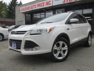 Used 2015 Ford Escape SE-2.0L-AWD-NAVI-LTHER-PANO=ROOF-CAM-BTOOT-HEATED for sale in Scarborough, ON