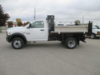 Used 2018 RAM 5500 ST.REG.CAB.DUAL REAR WHEELS.4X4 for sale in London, ON