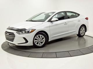 Used 2017 Hyundai Elantra LE, SIÈGES CHAUFFANTS, BLUETOOTH for sale in Brossard, QC