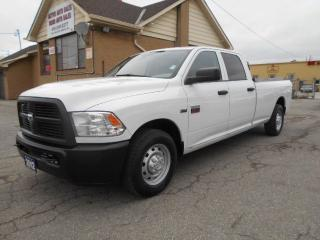 Used 2012 RAM 2500 ST 2500 Crew Cab Power Liftgate ONLY 87,000Km for sale in Etobicoke, ON