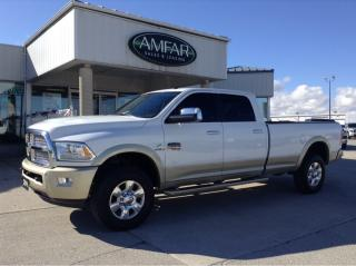Used 2016 RAM 3500 Longhorn / LOADED / NO PAYMENTS FOR 6 MONTHS !! for sale in Tilbury, ON