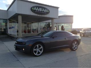 Used 2010 Chevrolet Camaro 2LT /LEATHER/AUTO/ NO PAYMENTS FOR 6 MONTHS for sale in Tilbury, ON