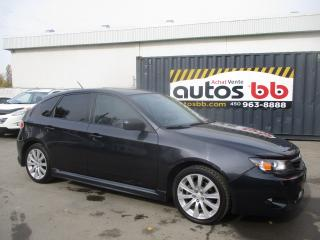 Used 2010 Subaru Impreza LIMITED + SPORTS PACKAGE for sale in Laval, QC
