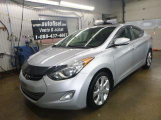 Used 2011 Hyundai Elantra $38.62/sem+taxes 4dr Sdn Auto Limited w-Nav for sale in St-Raymond, QC