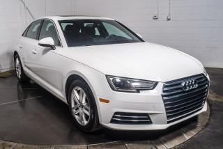 Used 2017 Audi A4 QUATTRO CUIR TOIT MAGS BLUETTOTH for sale in St-Hubert, QC