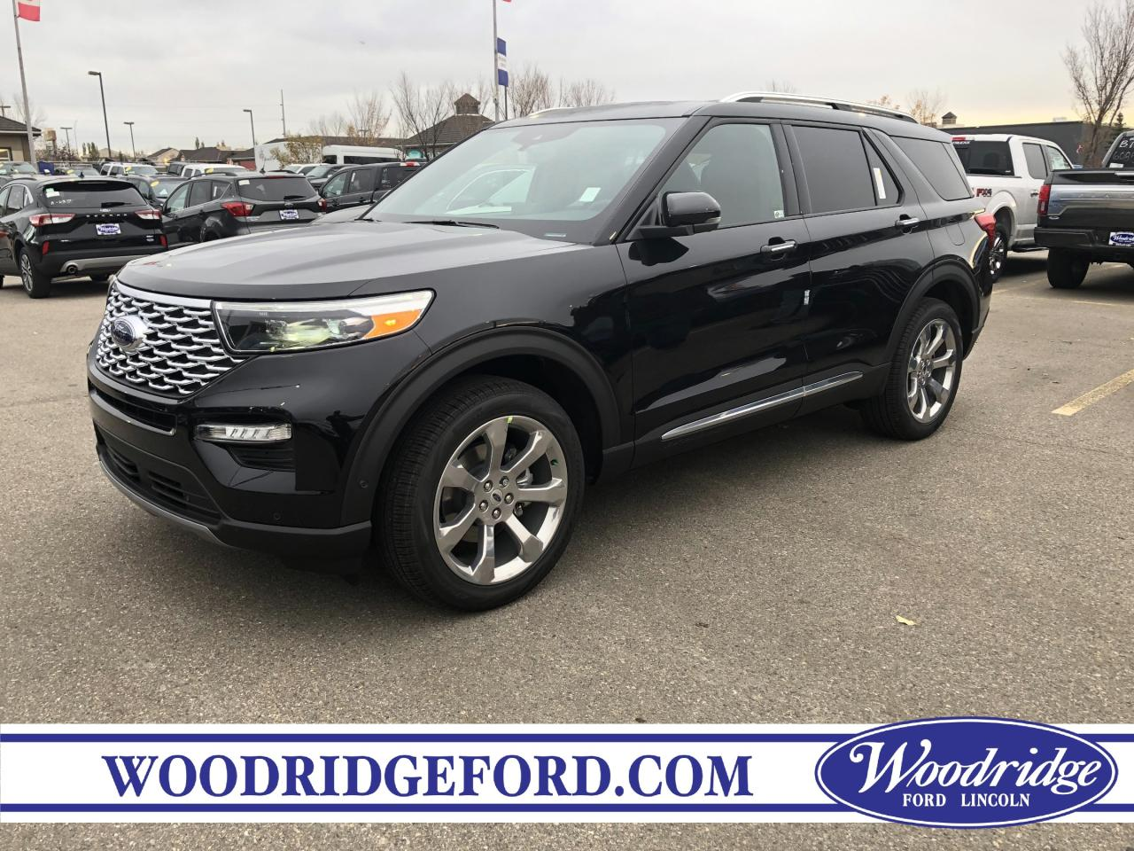 Used 2020 Ford Explorer Platinum For Sale In Calgary