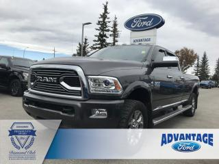 Used 2017 RAM 3500 Longhorn Heated / Cooled Seats - Remote Keyless Entry for sale in Calgary, AB