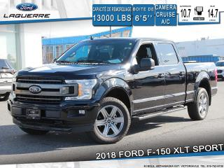 Used 2018 Ford F-150 XLT SPORT**TOIT*CAMERA*BLUETOOTH*APPLE CARPLAY** for sale in Victoriaville, QC