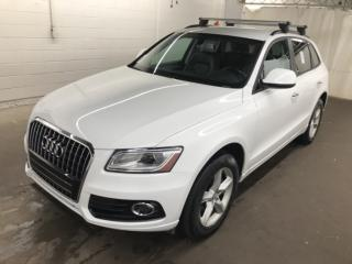 Used 2016 Audi Q5 QUATTRO CUIR MAGS BLANC / NOIR 76,000KM for sale in St-Eustache, QC