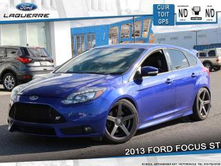 Used 2013 Ford Focus ST**CUIR*TOIT*GPS*BLUETOOTH*A/C** for sale in Victoriaville, QC