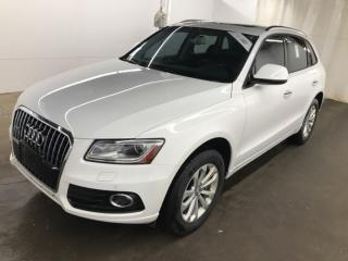 Used 2015 Audi Q5 2.0T Progressiv NAVI TOIT PANO CAMERA QUATTRO for sale in St-Eustache, QC