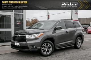 Used 2015 Toyota Highlander LE AWD for sale in Orangeville, ON
