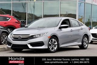 Used 2016 Honda Civic LX AUTO SEDAN BAS KM AUTO BAS KM CRUISE BLUETOOTH for sale in Lachine, QC
