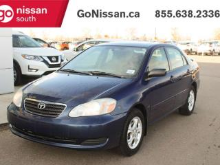 Used 2007 Toyota Corolla CE SUNROOF MANUAL for sale in Edmonton, AB
