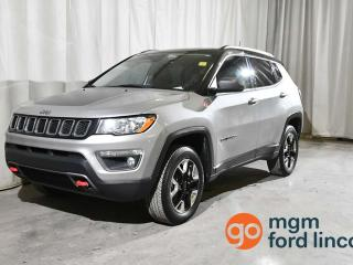 Used 2017 Jeep Compass Trailhawk 4x4 for sale in Red Deer, AB