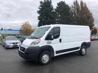 Used 2019 RAM Cargo Van ProMaster 3dr FWD Cargo Van for sale in Surrey, BC