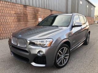 Used 2015 BMW X3 xDRIVE28d-M SPORT-NAVI-CAMERA-PANO ROOF-DIESEL for sale in Toronto, ON