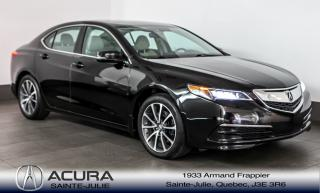 Used 2015 Acura TLX V6 3.5L SH AWD TECHNOLOGIE avec garantie prolongé for sale in Ste-Julie, QC