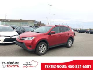 Used 2015 Toyota RAV4 * LE * AWD * 60 000 KM * CAMÉRA * SIÈGES CHAUFF. for sale in Mirabel, QC