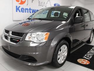 Used 2019 Dodge Grand Caravan SE FWD Value pkg with a back up cam and gorgeous grey for sale in Edmonton, AB