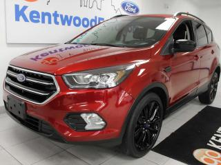 Used 2017 Ford Escape SE FWD ecoboost with NAV, heated power seats, power liftgate and keyless entry for sale in Edmonton, AB