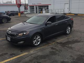Used 2013 Kia Optima EX Turbo + 274 HP | Leather | Sunroof for sale in Waterloo, ON