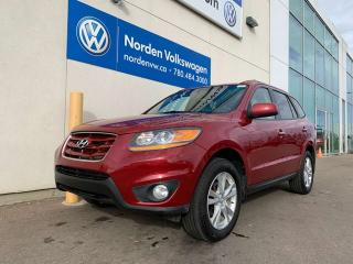 Used 2011 Hyundai Santa Fe 3.5L V6 LIMITED AWD - LEATHER / SUNROOF for sale in Edmonton, AB