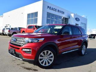 Used 2020 Ford Explorer LIMITED for sale in Peace River, AB