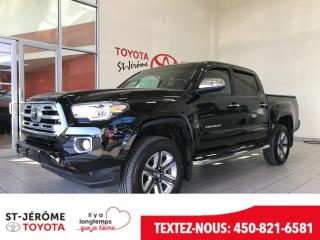Used 2019 Toyota Tacoma * 4X4 * LIMITED * GPS * TOIT OUVRANT * for sale in Mirabel, QC