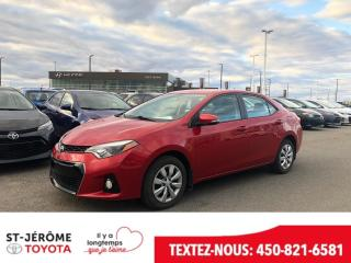 Used 2016 Toyota Corolla * 30 000 KM * S * SIÈGES CHAUFFANT * CAMÉRA * for sale in Mirabel, QC
